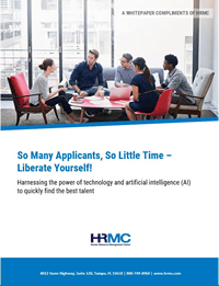 So Many Applicants, So Little Time – Liberate Yourself!